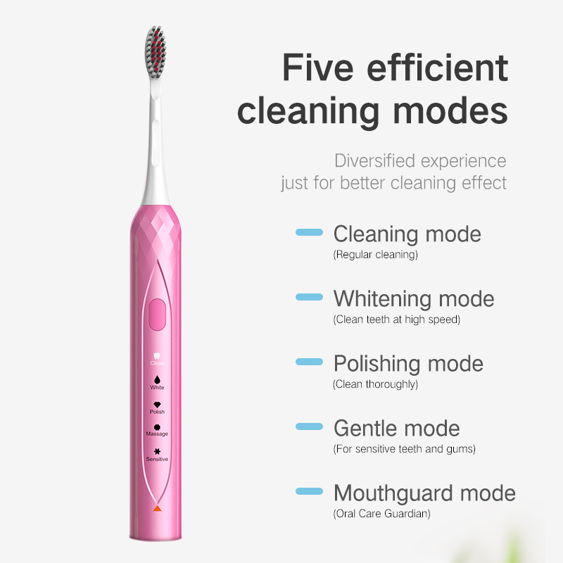 Electric toothbrush - red FY-900